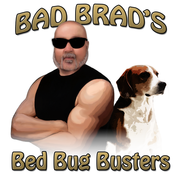 Bad Brad's Bed Bug Busters - Logo